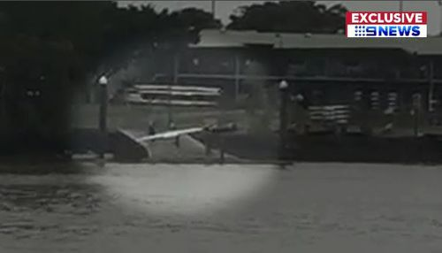 The vessel was found earlier this morning around West End. (9NEWS)