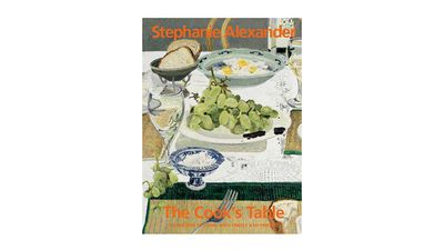 "<a href=""https://penguin.com.au/books/the-cooks-table-9781921384455"" target=""_top"">The Cook's Table</a><br> By Stephanie Alexander<br> Penguin Random House, RRP $69.99"