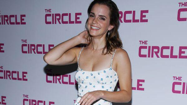 Emma Watson at The Circle premiere. Image: Getty