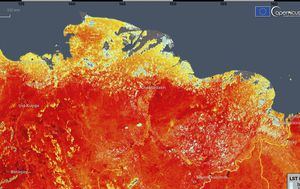 Forest fires in Siberia explode fivefold as Arctic swelters through record-breaking heatwave