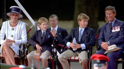 William told Diana he didn't want to be king