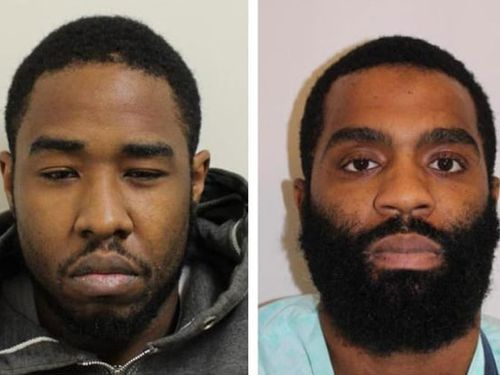 Nyrome Hinds and David Sterling were sentenced to 34 years and 11-and-a-half years behind bars respectively.