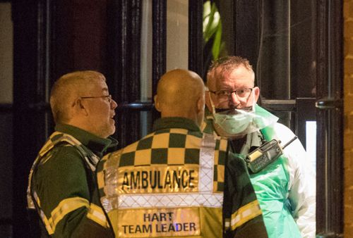 Health experts have been inspecting the Salisbury restaurant after two people fell ill.