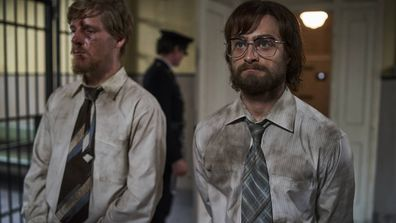 The movie follows the escape of activists Tim Jenkin and Stephen Lee – played by Daniel Radcliffe and Daniel Webber.