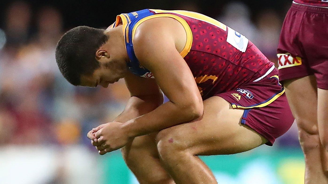 AFL nomads Gold Coast Suns hold out Brisbane Lions in AFL derby thriller at Gabba