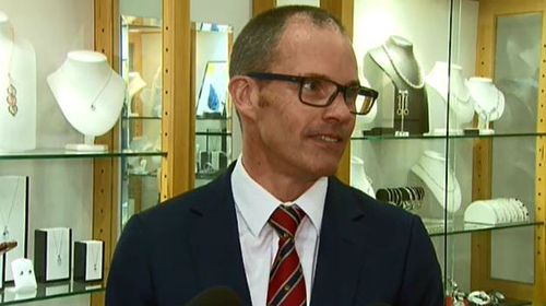 'I'm not a hero': Store manager Stevan Morrow. (9NEWS)