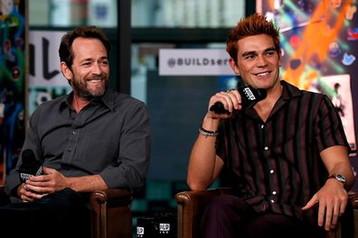 Luke Perry and KJ Apa