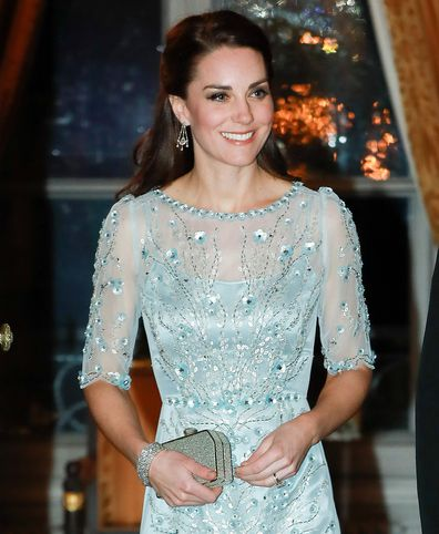 Kate Middleton at state event in Paris, 2016