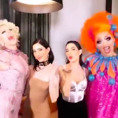 The Veronicas, Courtney Act and Bianca Del Rio