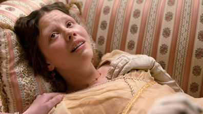 Mia Goth as Harriett Smith in 2020 movie adaptation of Jane Austen's Emma