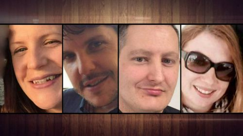 Four people died on the ride: Kate Goodchild, Roozi Araghi, Luke Dorsett and Cindy Low. (9NEWS)