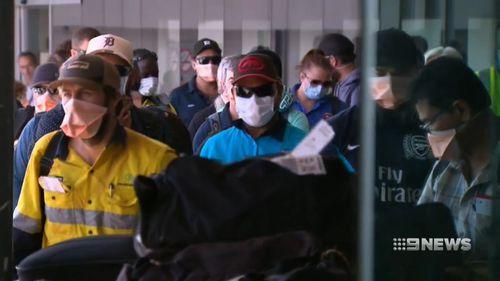 FIFO workers may have been exposed to measles after a case in the Pilbara.