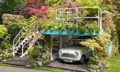 "Senri-Sentei – Garage Garden, designed by&nbsp;<a href=""http://www.kaza-hana.jp/"" target=""_blank"">Kazuyuki Ishihara</a>"