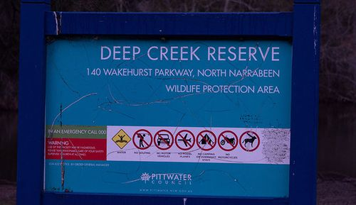 Deep Creek, which is along the Wakehurst Parkway is one of the allegedly haunted spots.