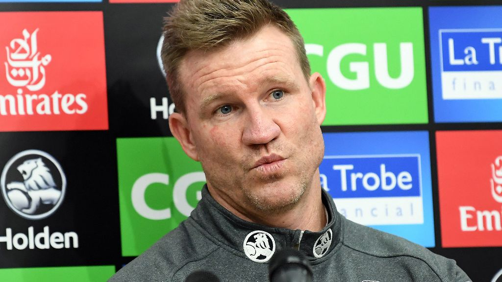 Afl Mark Evans Admits Nathan Buckley Tom Lynch Meeting Forced Hand