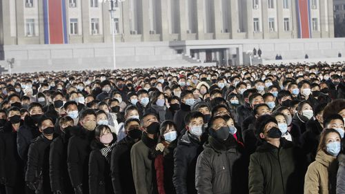 North Korea's Kim Jong Un thanks people in rare New Year's cards