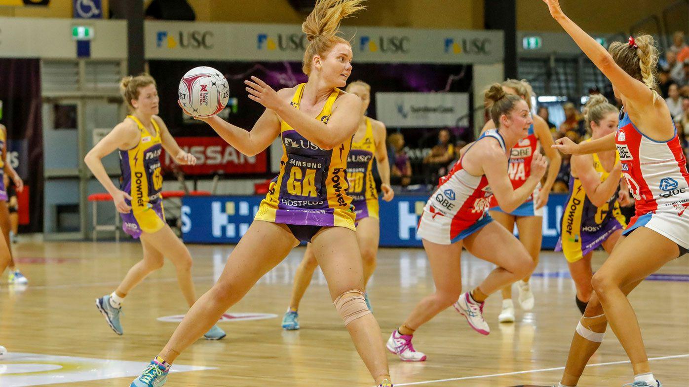 Netball: Sunshine Coast Lightning strike to sweep aside NSW Swifts