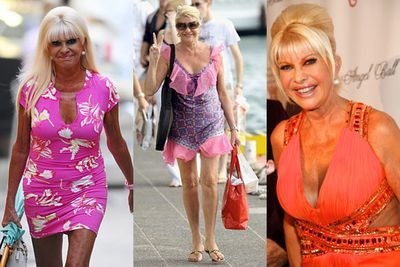 This 62-year-old obviously doesn't have anyone whispering in her ear about her fashion choices.