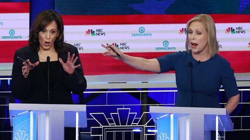 Kamala Harris and Kirsten Gillibrand both had strong moments in the campaign.