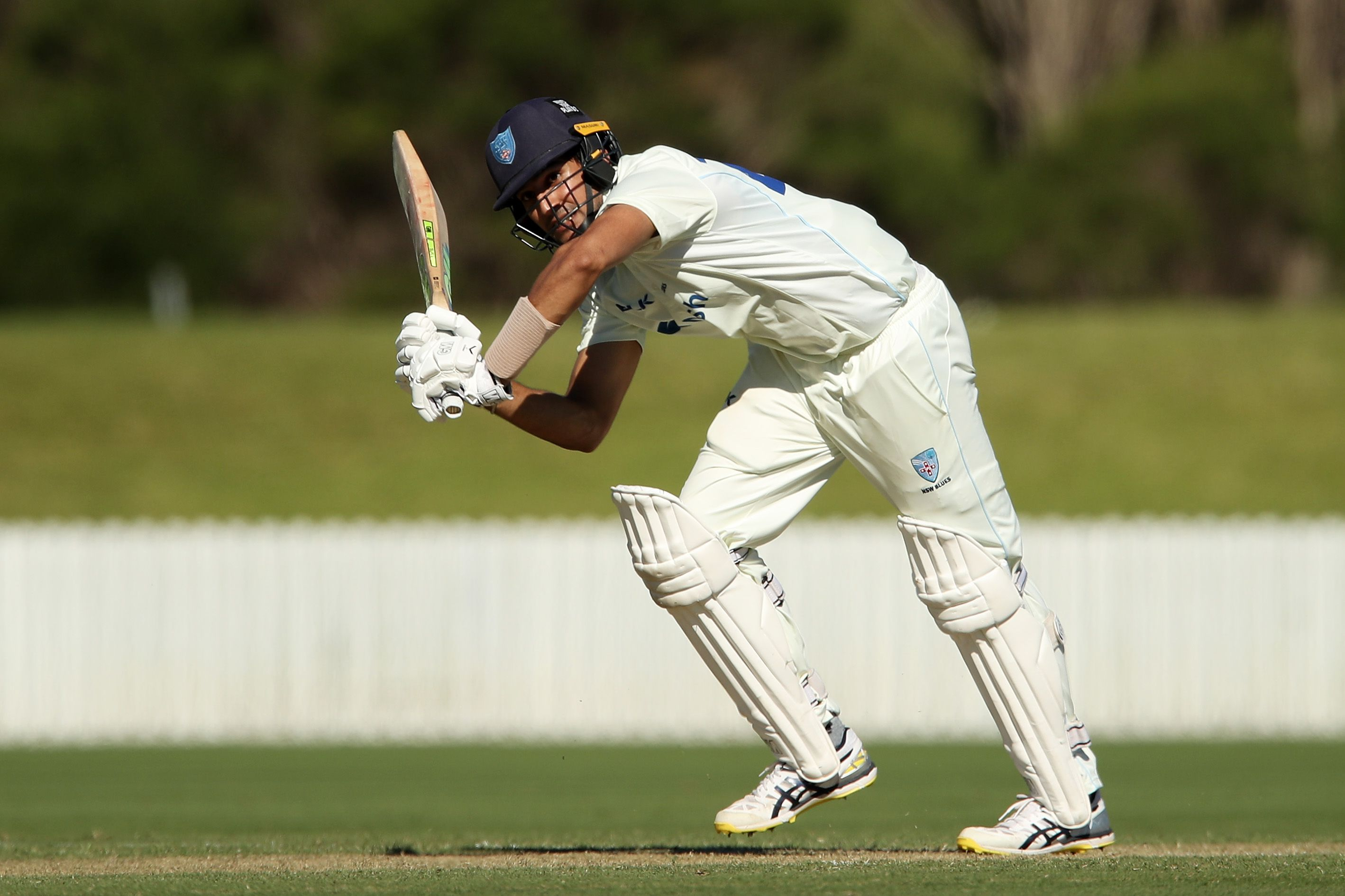 Jason Sangha century edges NSW Blues closer to Sheffield Shield final appearance