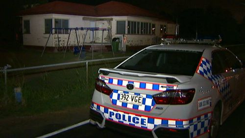 Man charged after breaking into house west of Brisbane and stabbing two men