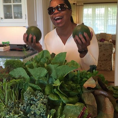 <strong>Avocados and greens make her sing</strong>