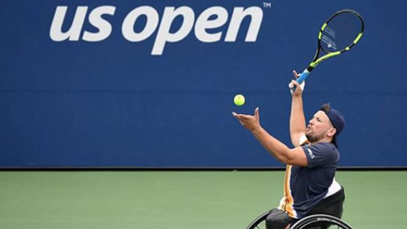Australian men's wheelchair champion Dylan Alcott describes US Open win as 'pretty sad'