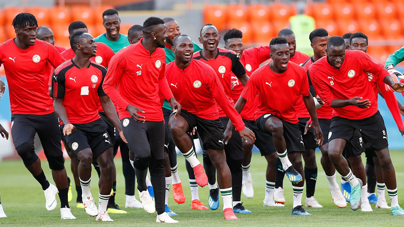 World Cup: Senegal entertain with unique warm-up dance routine before Japan match