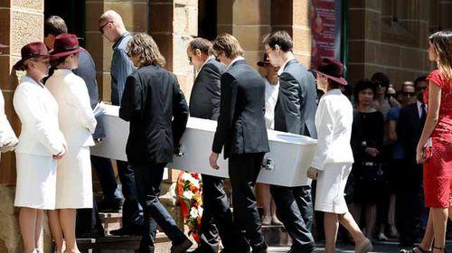 Mourners gather to farewell Tori Johnson