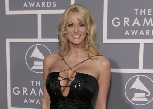 "Donald Trump has admitted he repaid his personal lawyer ""hush money"" for Stormy Daniels. (Getty)"