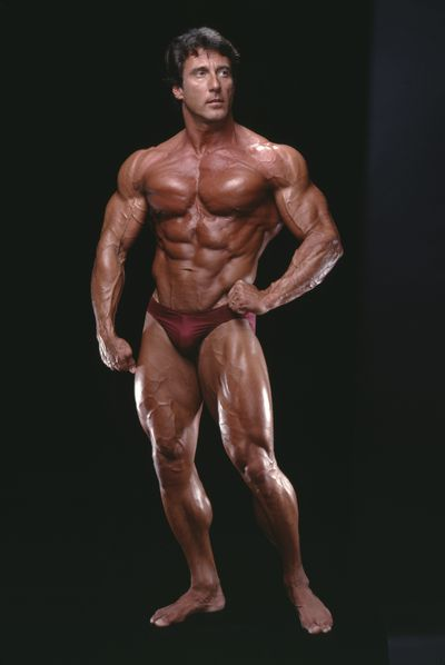 <strong>Frank Zane then...</strong>