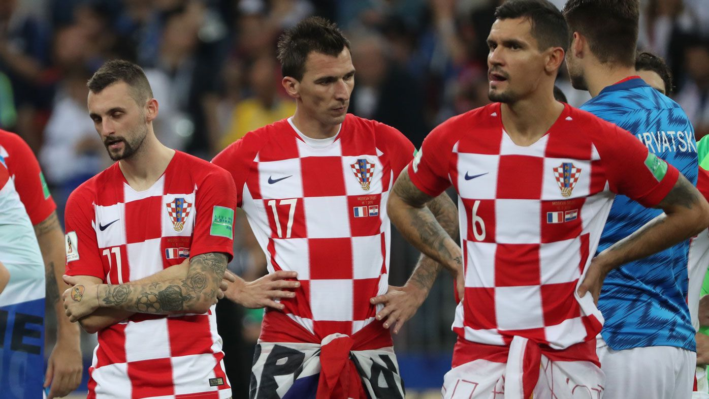 fbaa86d81 Croatia stars squabble at full-time following World Cup final loss to France