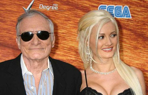 Holly Madison was one of Hef's three girlfriends from 2004 to 2008. (AAP)