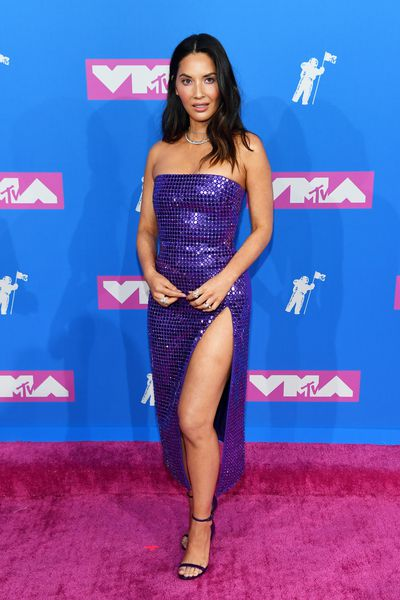 Olivia Munn inDavid Koma at the 2018 MTV Video Music Awards