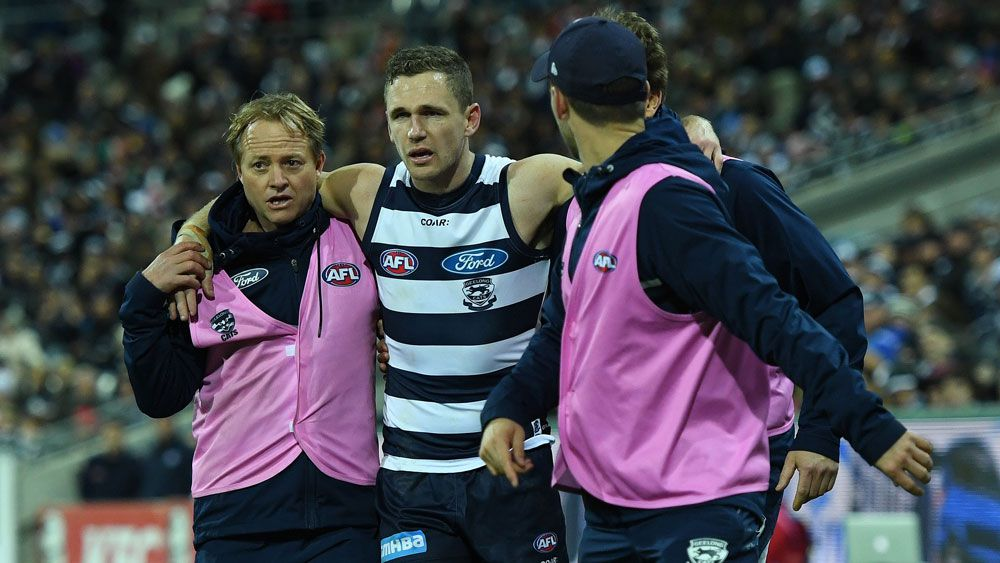 Geelong Cats skipper Joel Selwood out with ankle injury until AFL finals