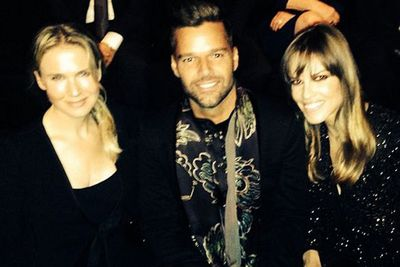 @officialrickymartin: One night only in NYC @ARMANI.