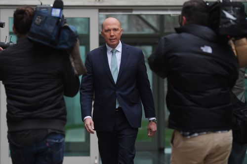 Peter Dutton has requested a party room meeting from Malcolm Turnbull.