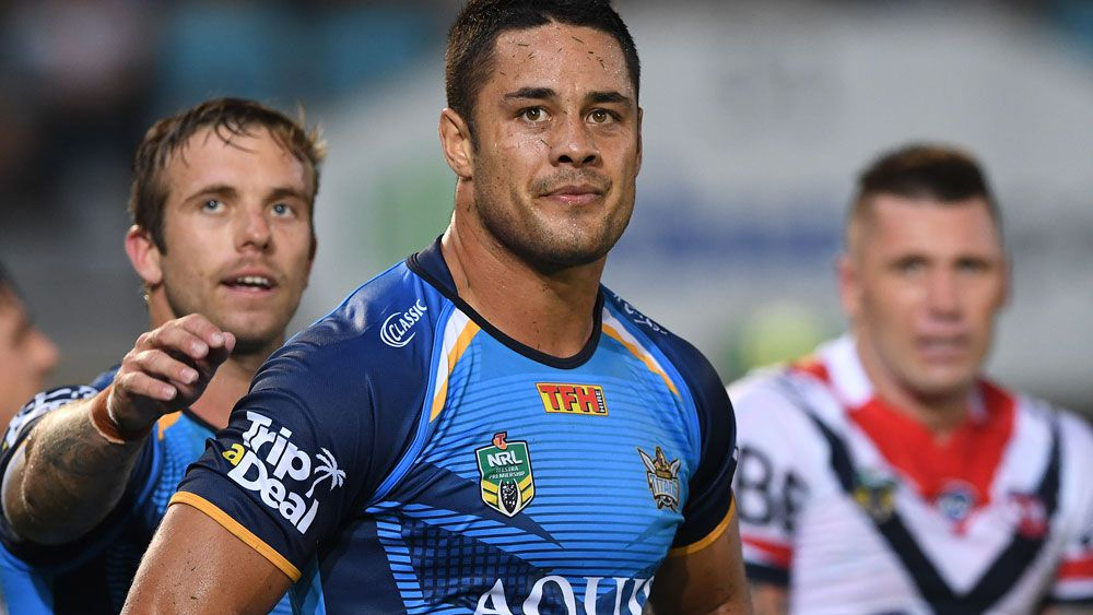 Gold Coast Titans star Jarryd Hayne isn't happy with reports on his fine. (AAP)