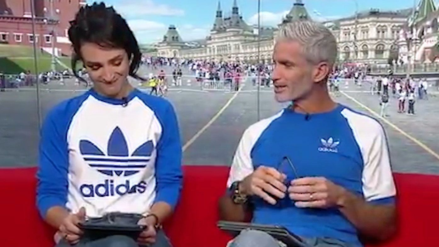 Lucy Zelic and Craig Foster