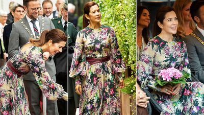 Princess Mary opens the Odense Flower Festival, August 2019.