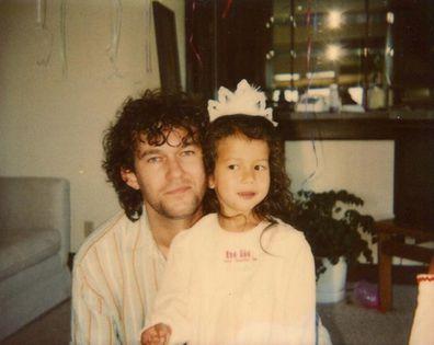 Mahalia Barnes, dad, Jimmy Barnes, throwback photo, childhood