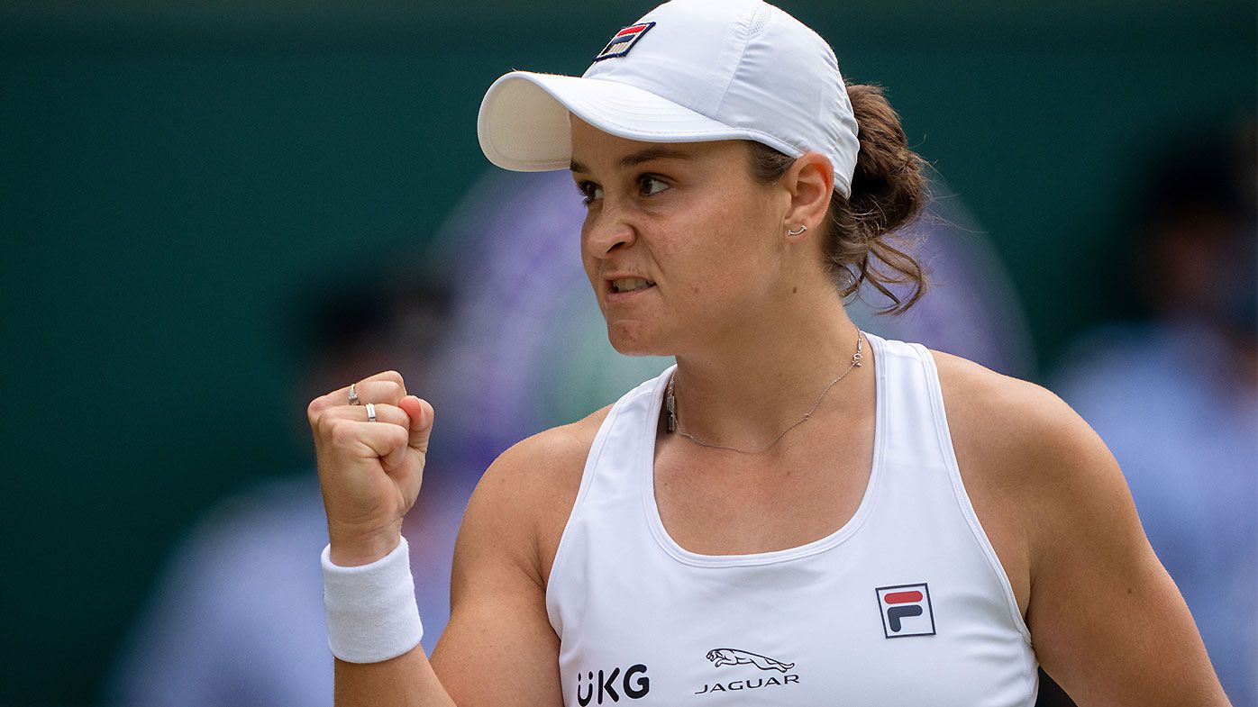 'Perfection really': Ash Barty unlocks frightening new level to seal path to maiden Wimbledon final