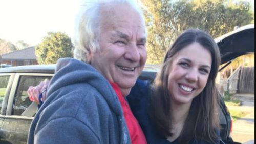 Narre Warren resident Mile Bajrovic thanks the strangers who saved him. (9NEWS/Neary Ty)