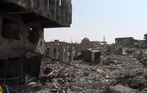 Flattened Mosul: heartbreaking scenes of destroyed city emerge as ISIS retreats