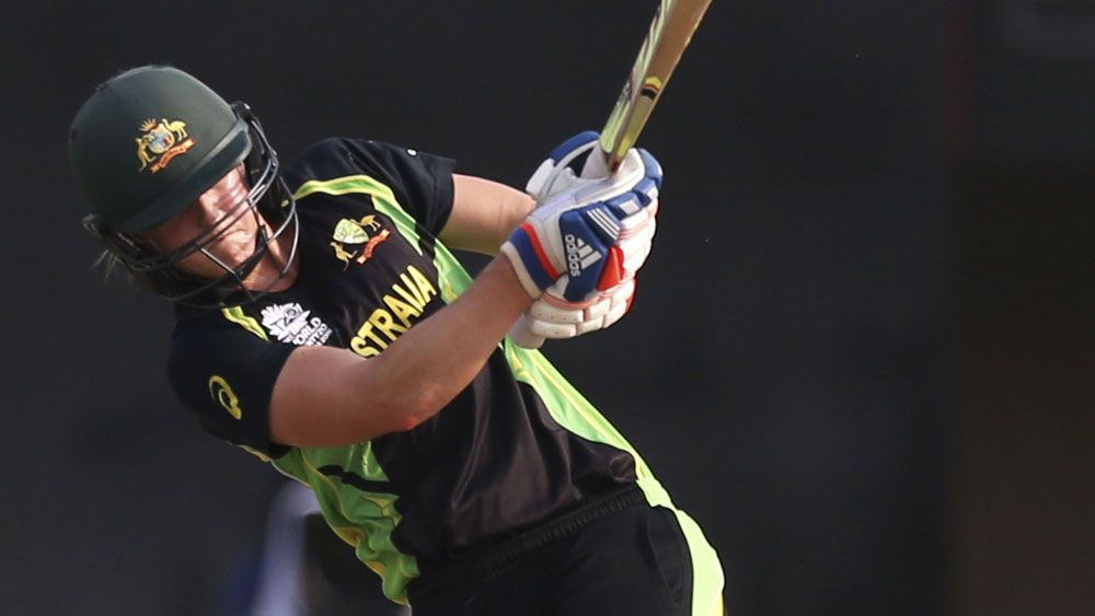 Ellyse Perry has continued her superb form. (AAP)