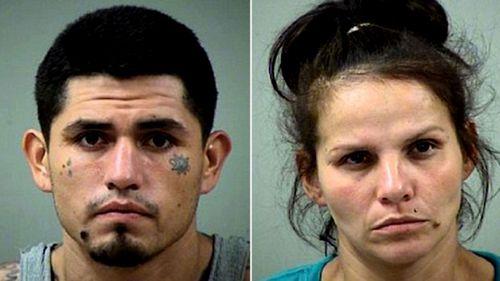 Daniel Moreno Lopez (left), and girlfriend, Candie Dominguez. (Photos: Bexar County Sheriff;s Office).