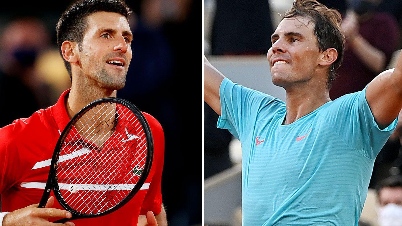 Novak Djokovic sets up French Open final blockbuster with Rafael Nadal
