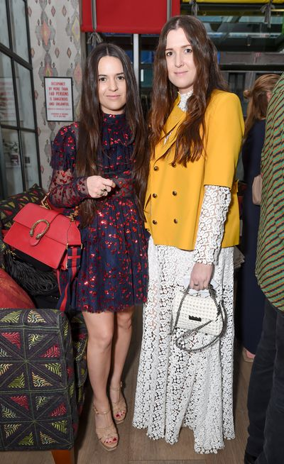 Tessa and Beth Macgraw of Macgraw at the Australian Fashion Foundation 2017 summer party at The Whitby Hotel, New York.