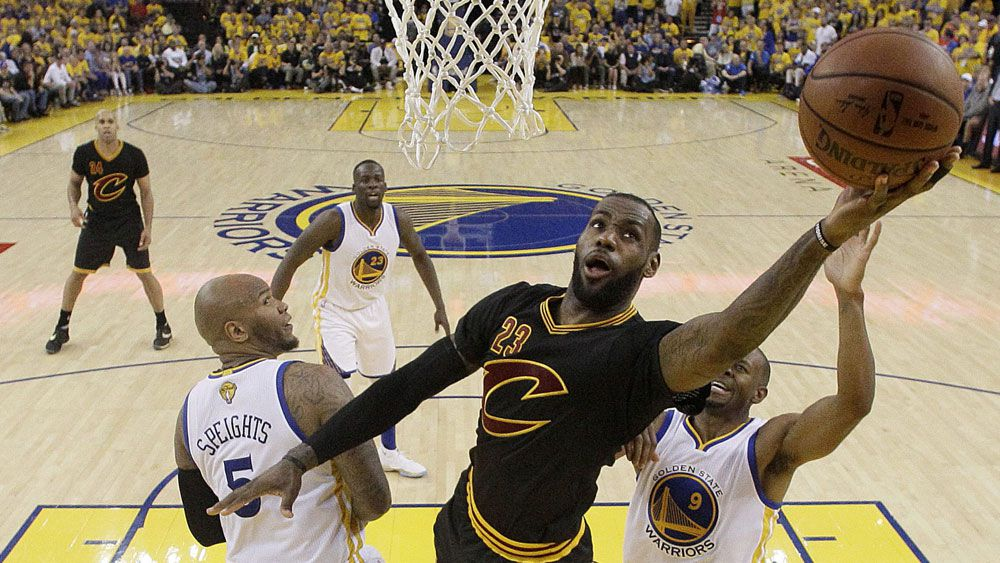 LeBron-inspired Cavaliers win NBA Championship