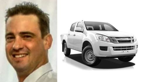 Police have confirmed the ute is the property of 38 year old David Hornman, who has been missing since earlier this week.